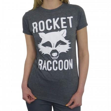 GOTG Rocket Raccoon Mean Mug Women's T-Shirt