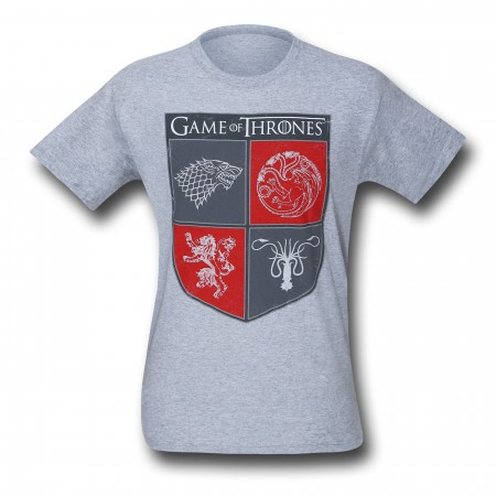 Game of Thrones Sigil Shield T-Shirt