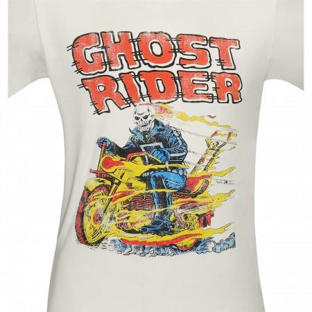 Ghost Rider Retro Hell on Wheels T-Shirt