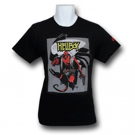 Hellboy T-Shirt By Mike Mignola T-Shirt