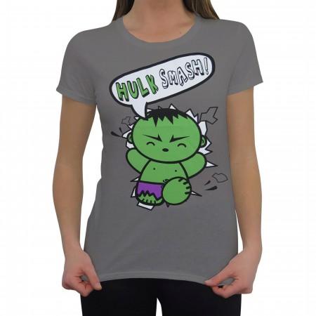 Hulk Smash Baby Women's T-Shirt