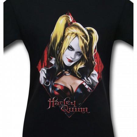 Harley Quinn Arkham Diamond Men's T-Shirt