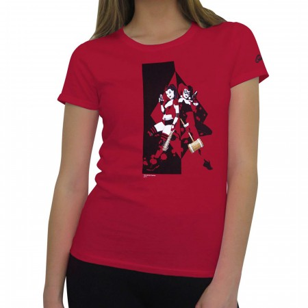 Harley Quinn Back to Back Women's T-Shirt