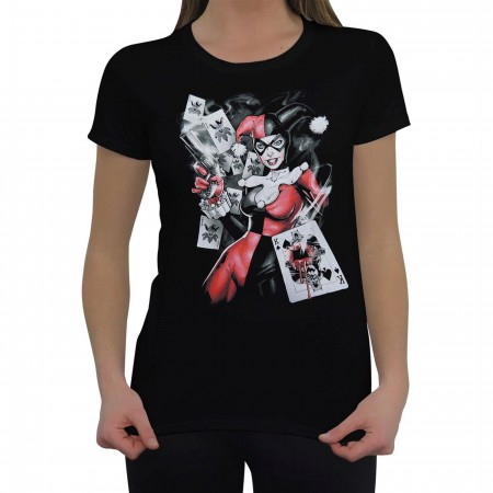 Harley Quinn Card Shot Women's T-Shirt