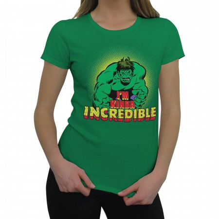 Hulk Women's I'm Kinda Incredible T-Shirt
