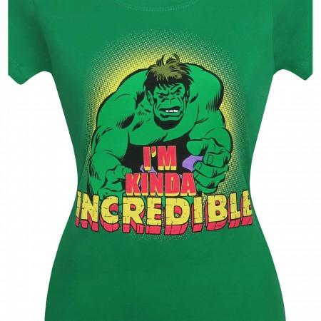 Hulk Women's I'm Kinda Incredible T-Shirt