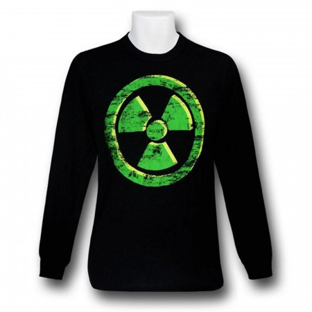 Hulk Gamma Black Thermal Long Sleeve T-Shirt