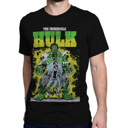 Incredible Hulk Transformation Men's T-Shirt