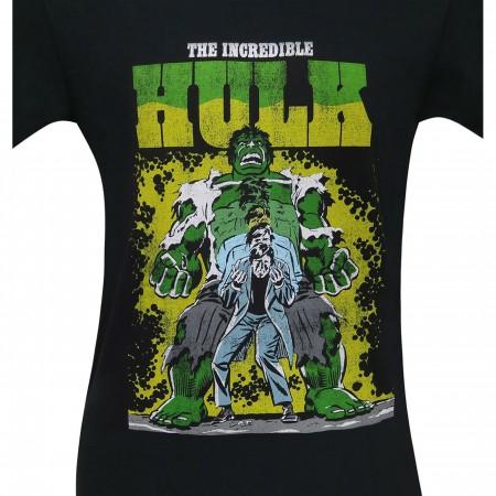 Incredible Hulk Transformation Men's T-Shirt