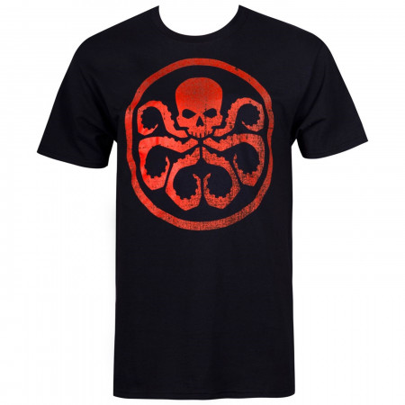 Hydra Symbol on Black T-Shirt