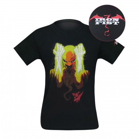 Iron Fist The Living Weapon Cover Art Men's T-Shirt