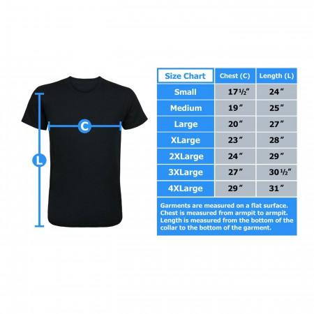 Iron Man Blue Arc T-Shirt