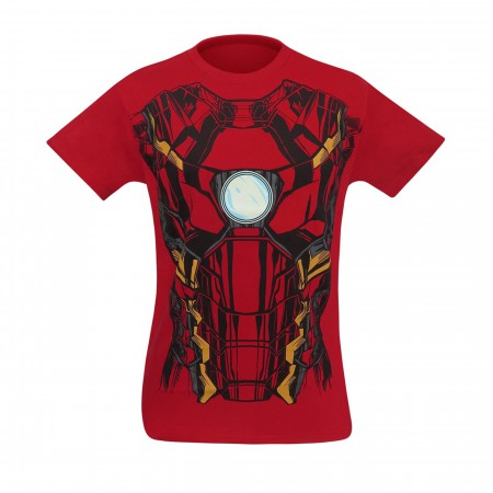 Iron Man Suit-Up Men's Costume T-Shirt