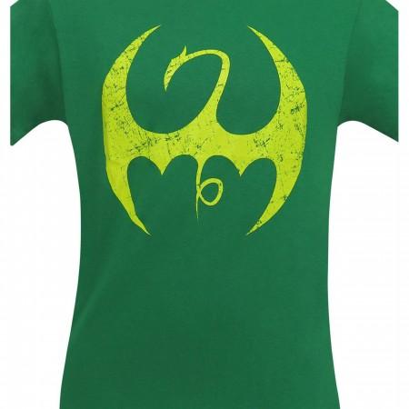 Iron Fist Distressed Symbol Men's T-Shirt