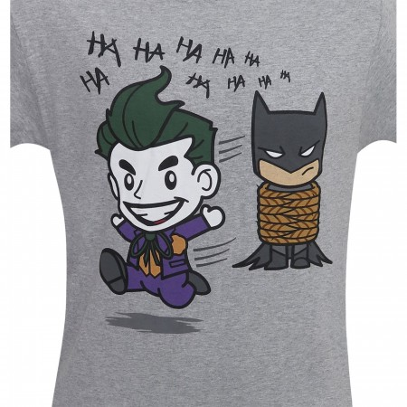 Joker Gotcha All Tied Up Chibi Men's T-Shirt