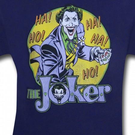 Joker Ho Ha! Purple T-Shirt