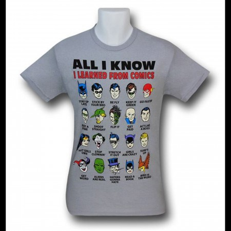 JLA All I Know Grey T-Shirt