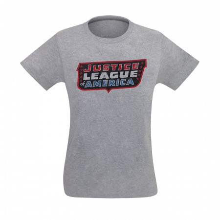 Justice League of America Classic Logo Men's T-Shirt