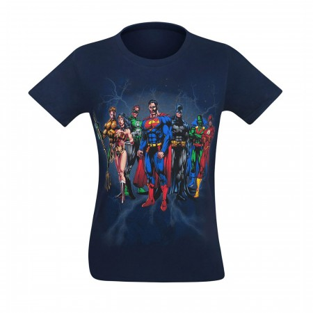 Justice League Line Up Men's T-Shirt