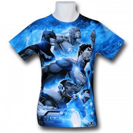 Justice League Space Patrol Sublimated T-Shirt