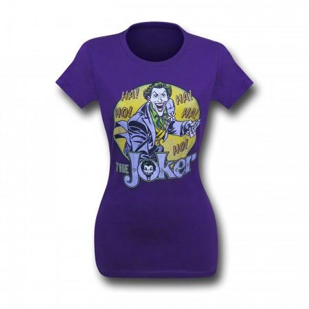 Joker Ho! Ha! Purple Women's T-Shirt