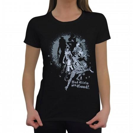 DC Bad Girls Are Good Women's T-Shirt