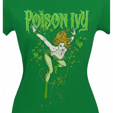 Poison Ivy Women's Green T-Shirt