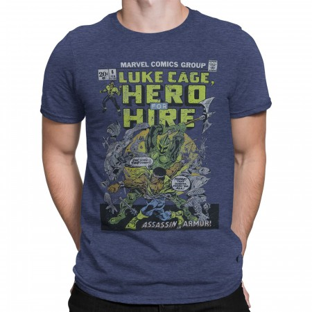 Luke Cage Hero For Hire #6 Men's T-Shirt