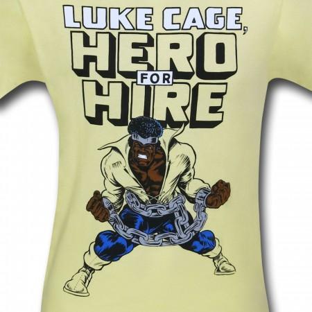 Luke Cage Hero for Hire 30 Single T-Shirt