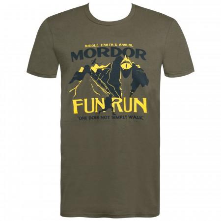 Mordor Fun Run Men's T-Shirt