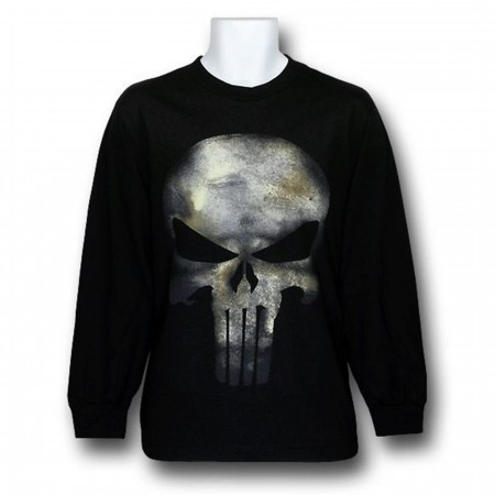 Punisher Movie Symbol Long Sleeve Shirt