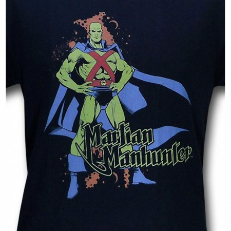 Martian Manhunter Retro Stand T-Shirt