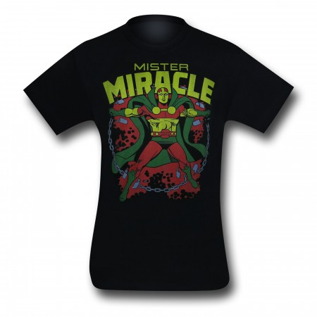 Mr. Miracle Black T-Shirt