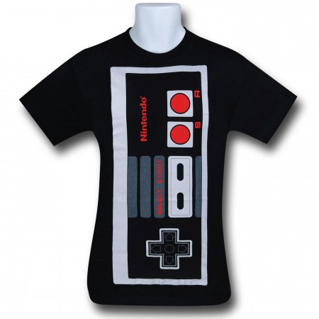 Nintendo Big Controller Black T-Shirt