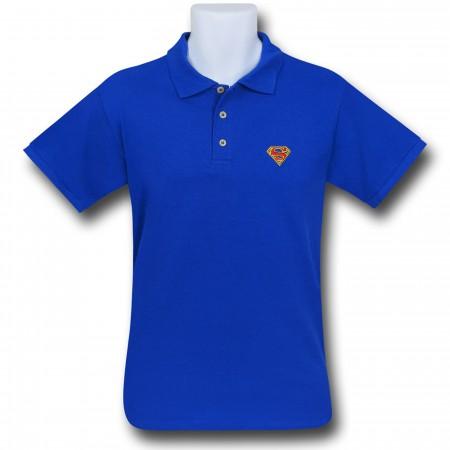Superman Red Symbol Polo Shirt