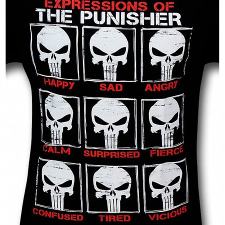 Punisher Expressions of the Punisher T-Shirt