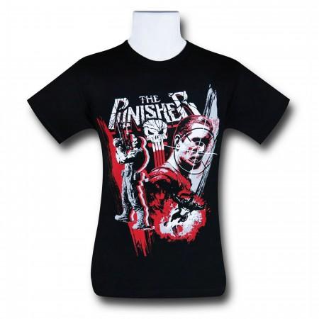 Punisher Trio Action Pose Men's T-Shirt
