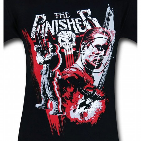Punisher Trio Action Pose Men's T-Shirt