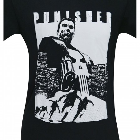 Punisher Try and Run Men's T-Shirt