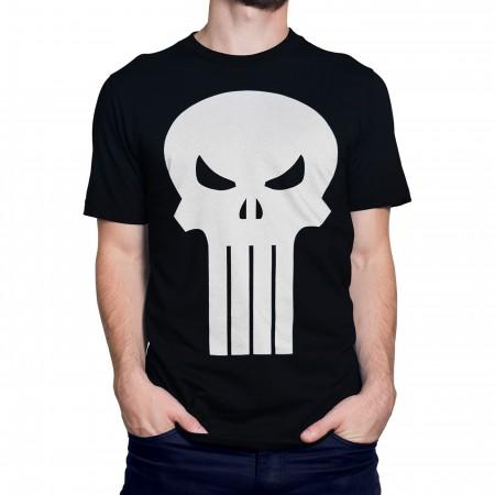 Punisher White Skull T-Shirt