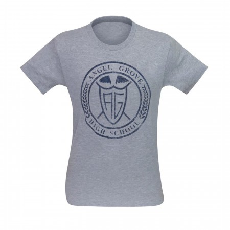Power Rangers Angel Grove High Men's T-Shirt