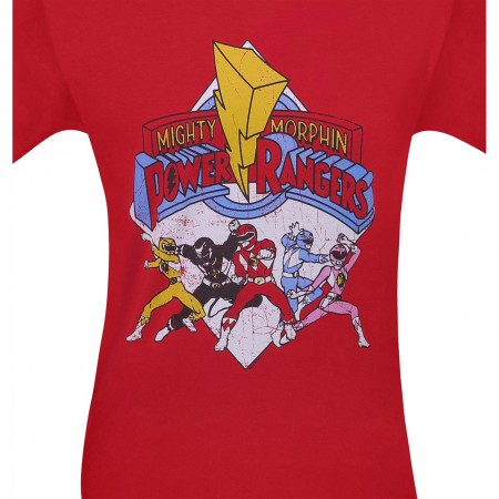 Power Rangers Retro Rangers Men's T-Shirt