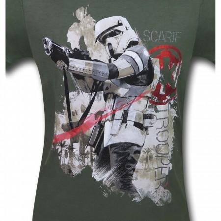 Star Wars Rogue One Scarif Trooper Men's T-Shirt