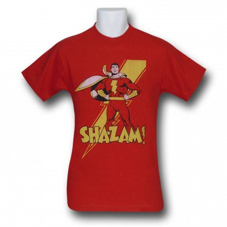 Shazam Captain Marvel T-Shirt