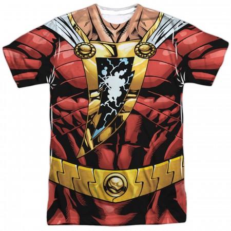 Shazam Sublimated Men's Costume T-Shirt