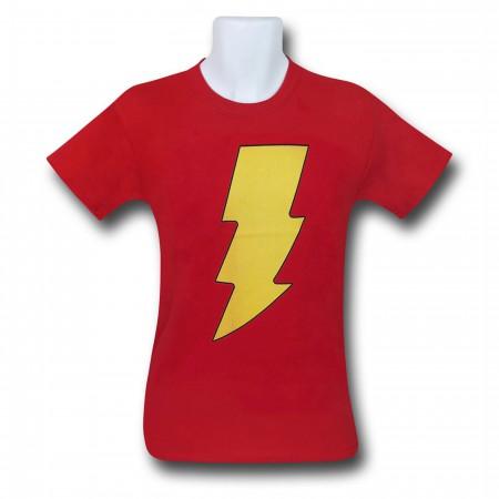 Shazam Symbol Kids T-Shirt