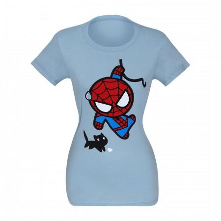 Spider-Man Black Cat Kawaii Women's T-Shirt