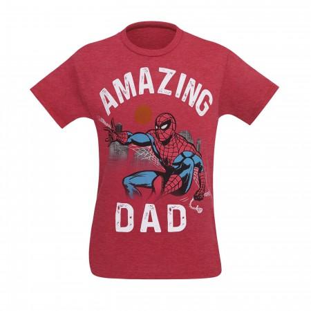 Spider-Man Amazing Dad Men's T-Shirt