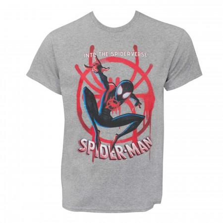 Spider-Man Into The Spider-Verse Miles Morales Men's T-Shirt