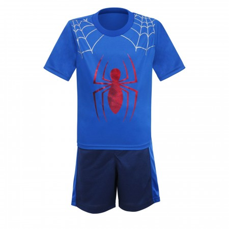 Spider-Man Kids Web Hero T-Shirt & Shorts Set
